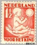 Nederland NL R86  1930 Jaargetijden 1½+1½ cent  Gestempeld