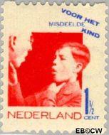 Nederland NL R90  1931 Misdeelde kind 1½+1½ cent  Gestempeld
