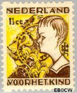 Nederland NL R94  1932 Kinderen en bloemen 1½+1½ cent  Gestempeld