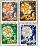 Nederland NL R98#R101  1933 Drie-koningenfeest  cent  Gestempeld