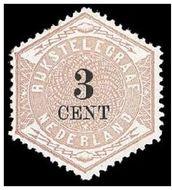 Nederland NL TG2  1877 Betaling telegraaf 3 cent  Gestempeld
