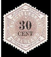 Nederland NL TG8  1877 Betaling telegraaf 30 cent  Gestempeld