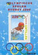Nederlandse Antillen NA 1322  2000 Olympische Spelen Sydney 40+15 cent  Postfris