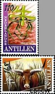 Nederlandse Antillen NA 1894#1895  2009 Jaar van de Os 285+125 cent  Postfris