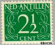 Nederlandse Antillen NA 214  1950 Type 'van Krimpen'  2½ cent  Gestempeld