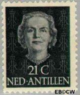 Nederlandse Antillen NA 224  1950 Type 'En Face' 21 cent  Gestempeld