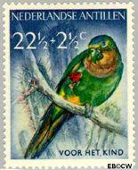 Nederlandse Antillen NA 274  1958 Vogels 22½+2½ cent  Gestempeld