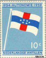 Nederlandse Antillen NA 304  1959 Koninkrijks Statuut 10 cent  Gestempeld