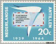 Nederlandse Antillen NA 345  1964 Luchtverbinding 20 cent  Gestempeld