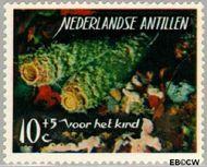 Nederlandse Antillen NA 365  1965 Zeeleven 10 cent  Gestempeld