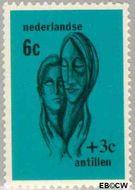 Nederlandse Antillen NA 385  1967 Sociaal en cultureel werk  cent  Gestempeld