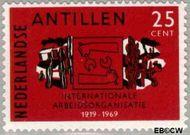 Nederlandse Antillen NA 415  1969 I.A.O. 25 cent  Gestempeld