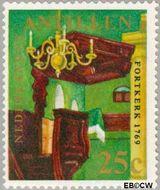 Nederlandse Antillen NA 425  1970 Kerken 25 cent  Gestempeld