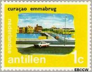 Nederlandse Antillen NA 445  1972 Eilanden 1 cent  Gestempeld
