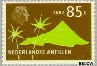 Nederlandse Antillen NA 465  1973 Landschappen 85 cent  Gestempeld