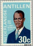 Nederlandse Antillen NA 485  1974 Herdenking Bernard Scott 30 cent  Gestempeld