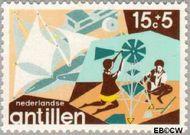 Nederlandse Antillen NA 515  1975 Creativiteit 15+5 cent  Gestempeld