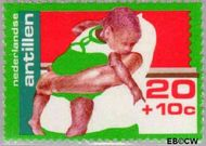 Nederlandse Antillen NA 525  1976 Kinderverzorging 20+10 cent  Gestempeld