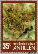 Nederlandse Antillen NA 535  1977 Rotstekeningen 35 cent  Gestempeld