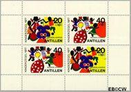 Nederlandse Antillen NA 555  1977 Fantasie-dieren  cent  Gestempeld