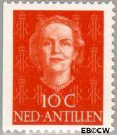 Nederlandse Antillen NA 605  1979 Type 'En Face' met diadeem 10 cent  Gestempeld