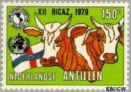 Nederlandse Antillen NA 620  1979 Vergadering P.A.H.O. 150 cent  Gestempeld