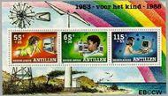 Nederlandse Antillen NA 906  1988 Kind en hobby  cent  Postfris