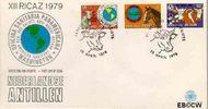 Nederlandse Antillen NA E121  1979 Vergadering P.A.H.O.  cent  FDC zonder adres