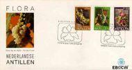 Nederlandse Antillen NA E124  1979 Bloemen  cent  FDC zonder adres
