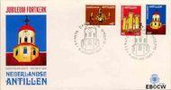 Nederlandse Antillen NA E128  1980 Fortkerk  cent  FDC zonder adres