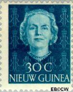 Nieuw-Guinea NG 13  1950 Type 'En Face' 30 cent  Gestempeld