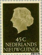 Nieuw-Guinea NG 33  1954 Type 'En Profile' 45 cent  Gestempeld