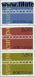 POR 1127#1129 Postfris 1971 C.E.P.T.- Schakels