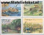 POR 1668#1671 Postfris 1985 Natuurbescherming