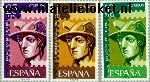 SPA 1318#1320 Postfris 1962 Dag van de Postzegel