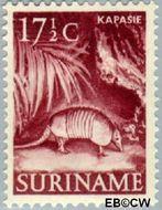 Suriname SU 305  1953 Inheemse voorstellingen 17½ cent  Gestempeld