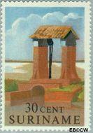 Suriname SU 365  1961 Historische gebouwen 30 cent  Gestempeld