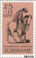 Suriname SU 473  1967 Barmhartige Samaritaan 25+12 cent  Gestempeld
