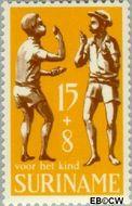 Suriname SU 523  1969 Kinderspelen 15+8 cent  Gestempeld