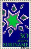 Suriname SU 533  1970 Symbolen 30+15 cent  Gestempeld