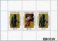 Suriname SU 573  1971 Kinderspelen  cent  Gestempeld