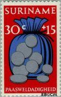 Suriname SU 583  1972 Paassymbolen 30+15 cent  Gestempeld