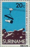Suriname SU 593  1972 Dienst Landbouwbeheer 20 cent  Gestempeld