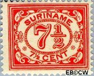 Suriname SU 83  1913 Drukwerkzegel 7½ cent  Gestempeld