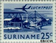 Suriname SU LP38  1965 Landschappen 25 cent  Gestempeld