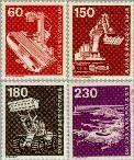 Berlin ber 582#586  1978 Industrie en techniek  Postfris