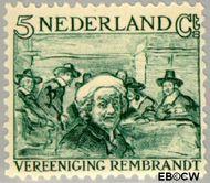 Nederland NL 229  1930 Vereniging Rembrandt 5+5 cent  Postfris