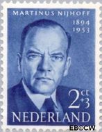 Nederland NL 641  1954 Bekende personen 2+3 cent  Postfris