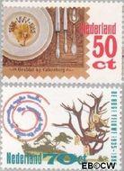 Nederland NL 1322#1323  1985 Toerisme  cent  Postfris
