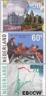Nederland NL 1335#1337  1985 Amsterdam  cent  Postfris